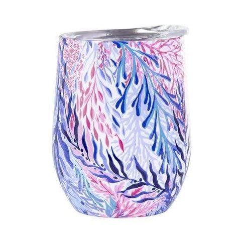 Lilly Pulitzer Insulated Stemless Tumbler - Kaleidoscope Coral