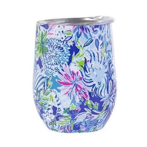Lilly Pulitzer Insulated Stemless Tumbler - Lion Around