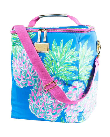 Lilly Pulitzer Wine Carrier - Swizzle