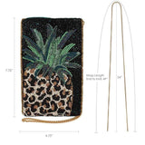 Mary Frances Fruit Gone Wild Beaded Crossbody Phone Bag