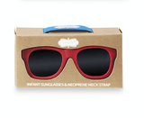 Mud Pie Baby Sunglasses - Red