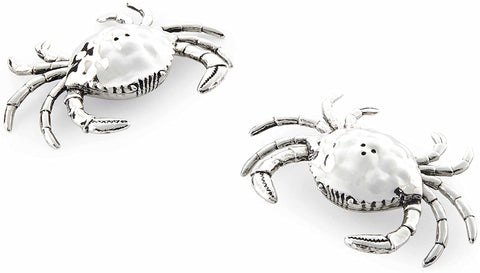 Mud Pie Crab Salt & Pepper Shakers