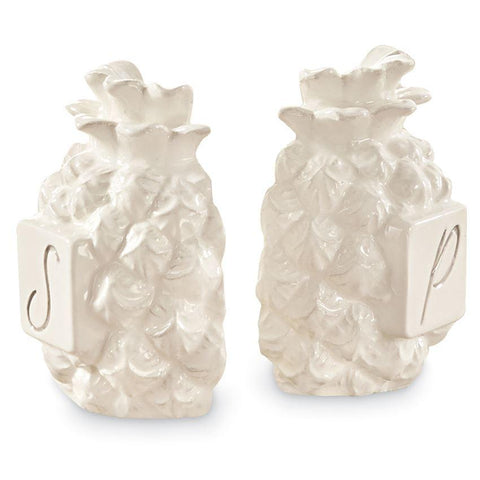 Mud Pie Pineapple Salt & Pepper Set