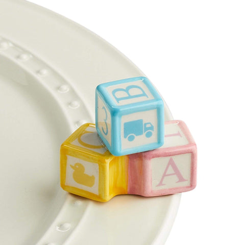 Nora Fleming Mini - Baby Blocks