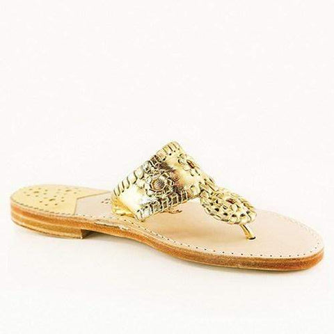 Palm Beach Sandals Classic - Gold / Gold