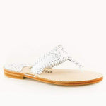 Palm Beach Sandals Classic - White / White