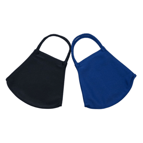 Pomchies Adult Face Mask Set - Black & Navy