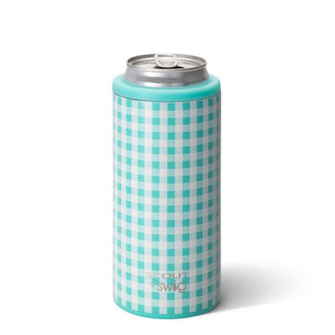 SCOUT + Swig Life 12oz Skinny Can Cooler - Barnaby Checkham