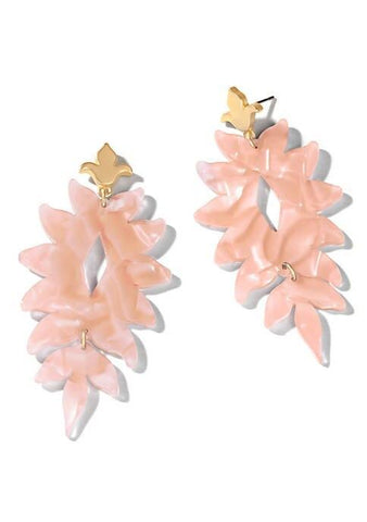 Spartina 449 Lighthouse Earrings Blush