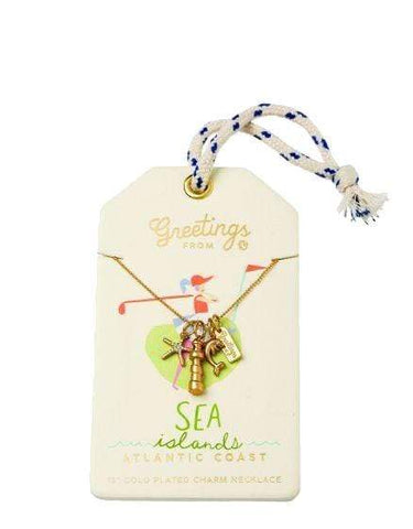 Spartina 449 Sea Islands Charm Necklace