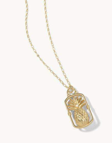 Spartina 449 Sweet Pineapple Long Necklace