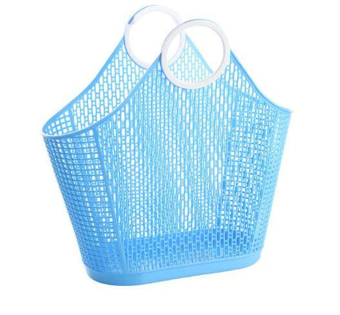 Sun Jellies Fiesta Basket - Small Aqua