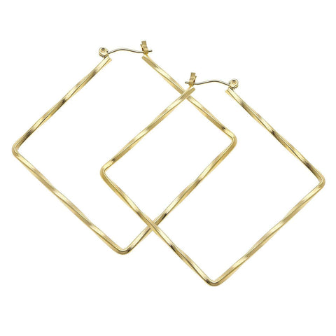 Susan Shaw Diamond Hoops