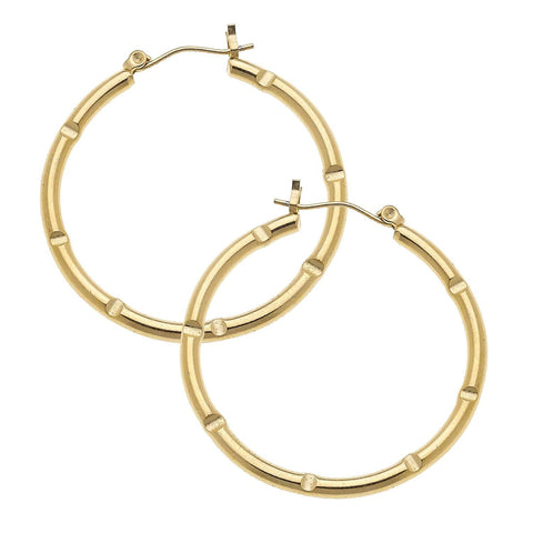 Susan Shaw Gold Hoops