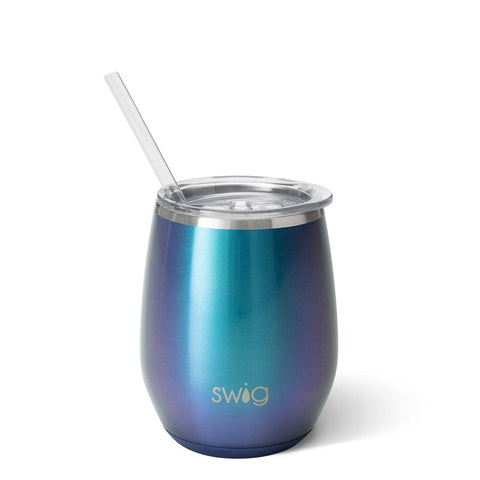 Swig Life 14 oz Stemless Wine Cup - Mermazing