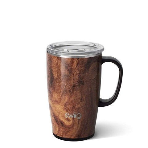 Swig Life 18 oz Mug - Black Walnut