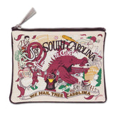 University of SC CatStudio Zip Pouch