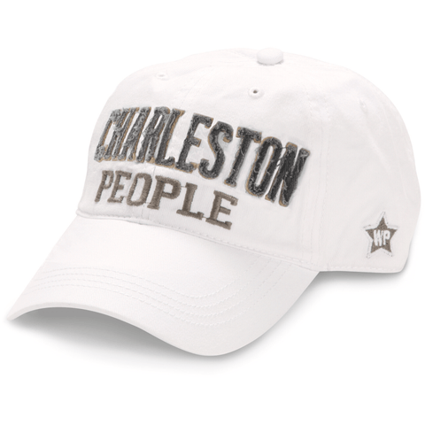 White Charleston People Hat