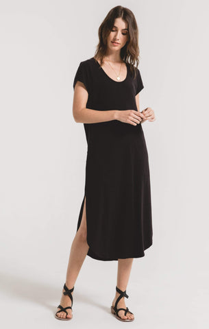 Z Supply Liera Midi Dress - Black