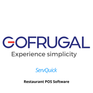 Gofrugal ServQuick Restaurant Point of Sale, Web Browser Application, 1 Year Subscription