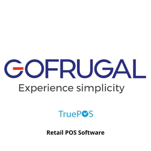 Gofrugal TruePOS Retail Point of Sale, Web Browser Application, 1 Year Subscription