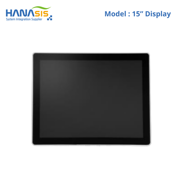 "Hanasis 15"" Second Display, 1024 x 768 Non Touch"