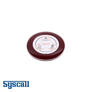 Syscall ST-600 Bell, 3 Button, Transmitter with three functions (CALL, BILL, CLEAR)