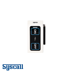 Syscall ST-500 Bell, 2 Button with external antenna, Transmitter with two functions (CALL, CLEAR)