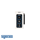 Syscall ST-500 Bell, 3 Buttons with external antenna, Transmitter with two functions (CALL, BILL, CLEAR)