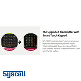 Syscall GP-2000T, Multi Button Transmitter, Touch Keypad