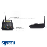 Syscall DT-5015, Multi Button Transmitter, Touch Keypad