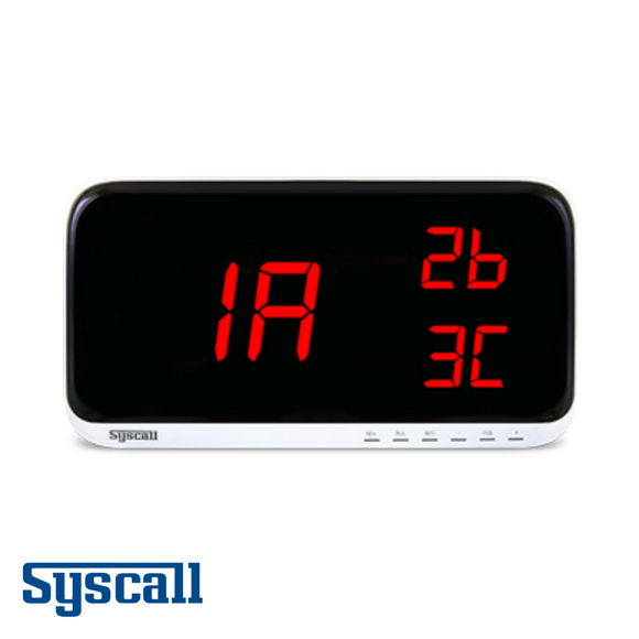 Syscall SR-A2003 Receiver, Display Monitor, 2 digits, 3 display