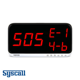 Syscall SR-A330 Receiver, Display Monitor, 3 digits, 3 display
