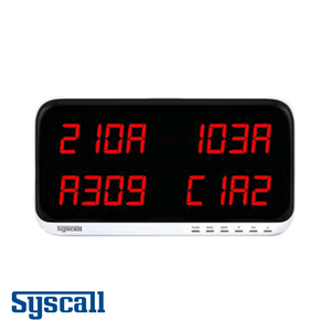Syscall SR-A440 Receiver, Display Monitor, 4 digits, 4 display
