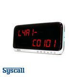 Syscall SR-AA10 Receiver, Display Monitor, 10 digits, 1 display