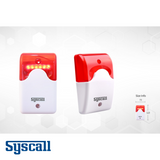 Syscall SRL-200 Light Indicator, Intuitive signal by LED, 3 types light effect