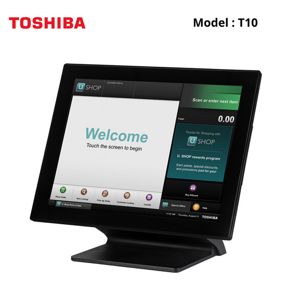 Toshiba T10, Touch POS, Intel J1900 Processor