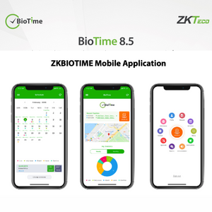 ZKTeco BioTime Web-Based Time & Attendance Management Software, Mobile Application Addon