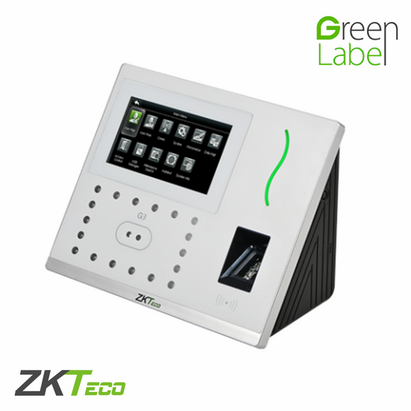 ZKTeco G3, Multi-Biometric Time Attendance & Access Control Terminal with Silk ID