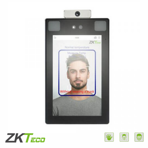 ZKTeco ProFace X (TD), Facial Recognition Terminal with Mask & Fever Detection