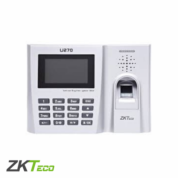ZKTeco U270 - Fingerprint Time Attendance