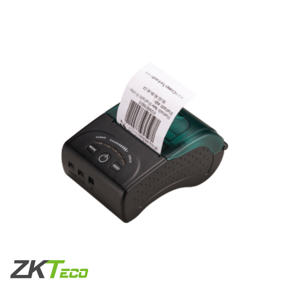 ZKTeco ZKP5808, Mini Thermal Receipt Printer, USB, Bluetooth