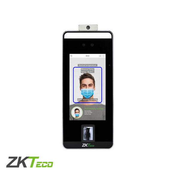 ZKTeco SpeedFace-V5L (TD), Facial Recognition Terminal with Mask & Fever Detection