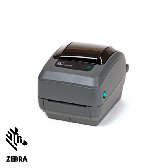 Zebra GX 430T  Label Printer, Thermal Transfer, Serial, USB, Ethernet