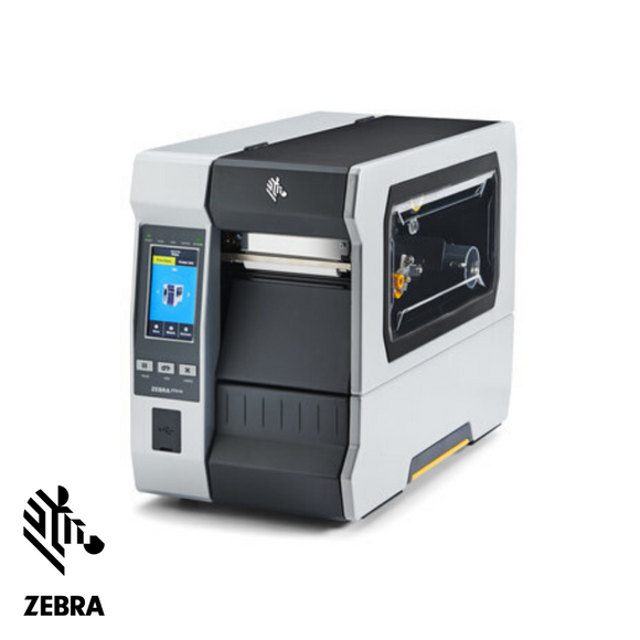 Zebra ZT610 Label Printer, Industrial Thermal Transfer, Serial, USB, Bluetooth, Ethernet