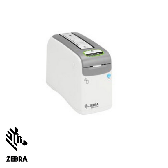Zebra ZD510 Wristband Label Printer, Direct Thermal, USB, Ethernet, Bluetooth, Wifi