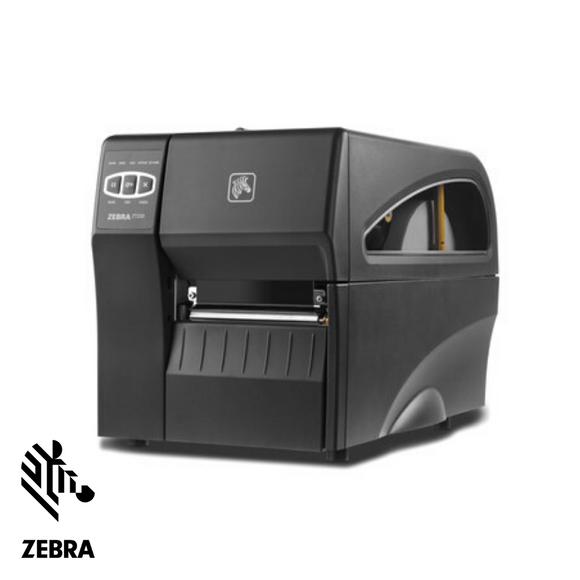 Zebra ZT220 Label Printer, Industrial Thermal Transfer, Serial, USB