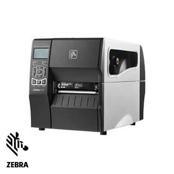 Zebra ZT230 Label Printer, Industrial Thermal Transfer, LCD Display, Serial, USB