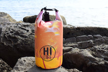 "Load image into Gallery viewer, Palm Tree Sunset ""HI LIFE"" Dry Bag 