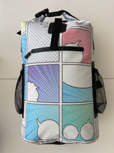 Load image into Gallery viewer, Comic con back pack Color- Custom Design your own back pack